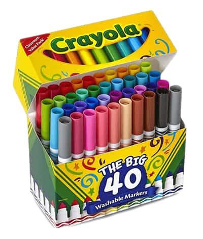 crayola washable broadtips