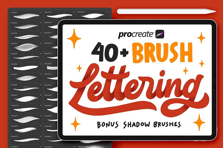 Procreate Lettering Brush