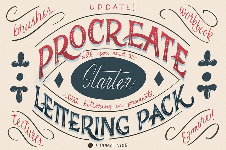 Procreate Lettering Starter