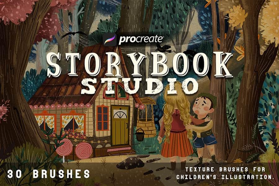Storybook Studio For Procreate