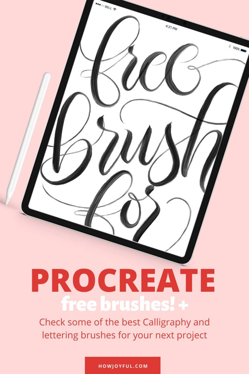 free procreate brush