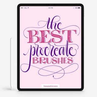 the best procreate brushes