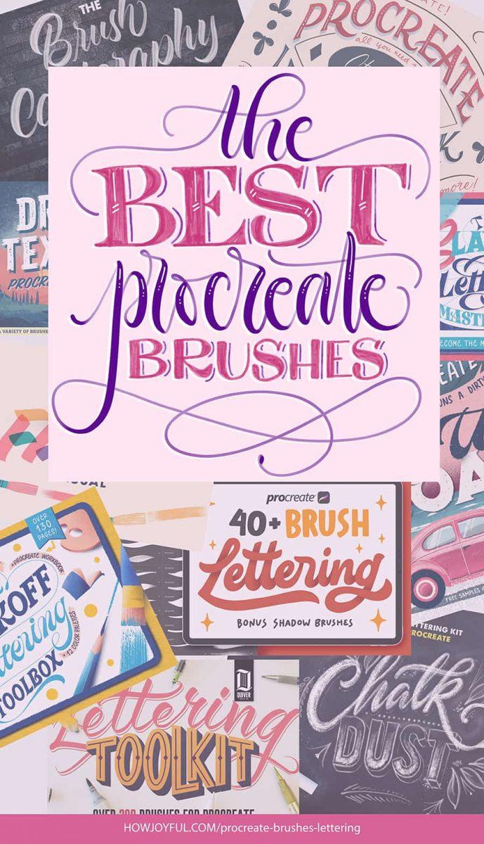 the best procreate brushes
