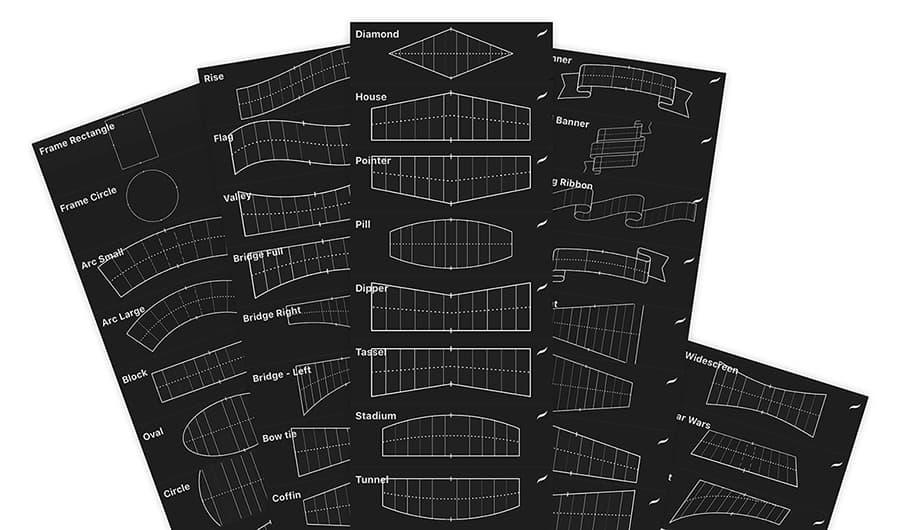 procreate grid builder brush