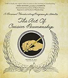 the art of cursive book