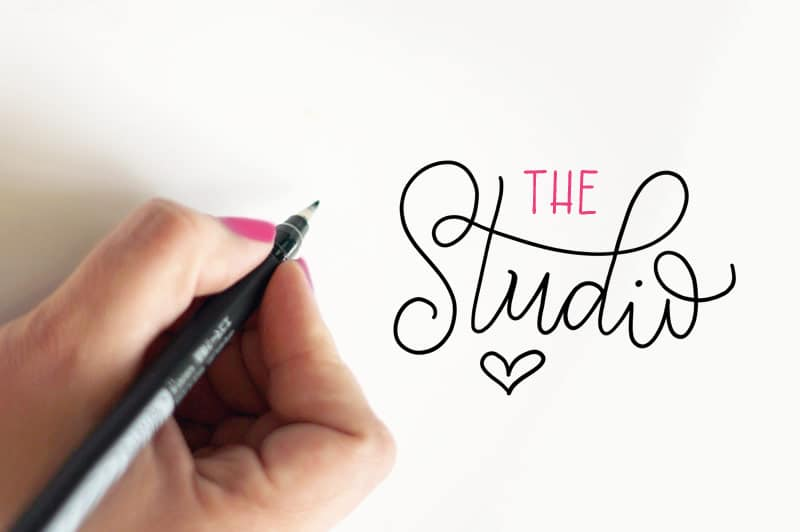 Hand-lettered fonts and workshops