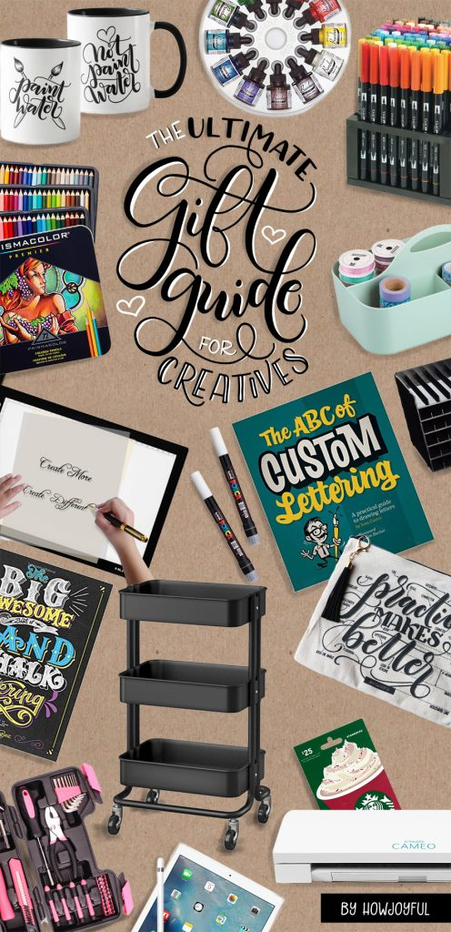 The ultimate gift guide for creatives