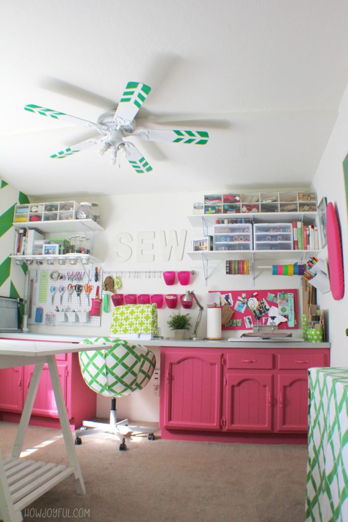 sewing room update