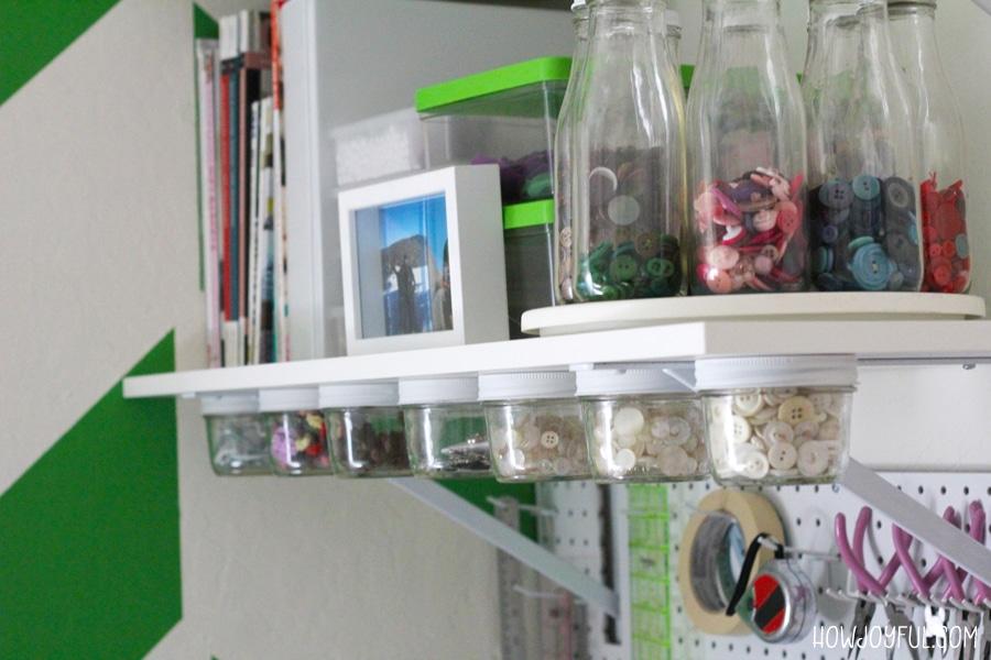jar hanging storage